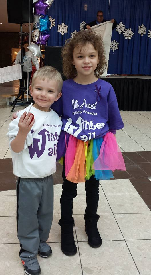 Ryan and 2016 Winter Walk Featured Family super star, Ella!