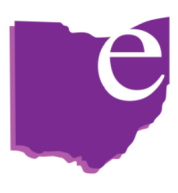 Purple EA Ohio Logo